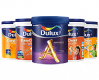 Dulux product ad block